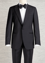 two piece suit - one button