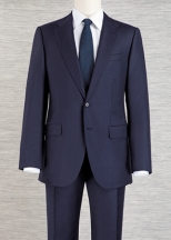 two piece suit - two buttons
